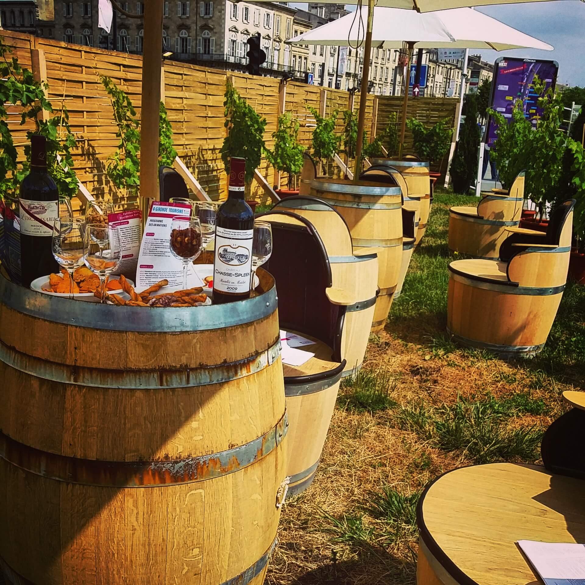 Le bonheur était bien dans le chai lors de Fête du Vin à Bordeaux