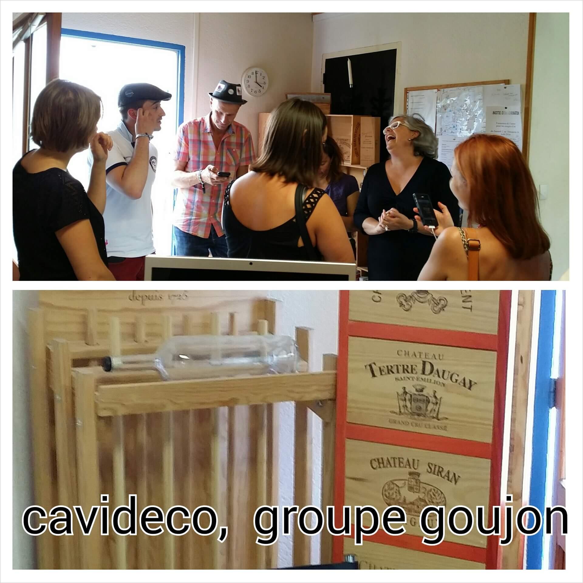 En balade en Gironde : Cavidéco, SAS Pierre Goujon