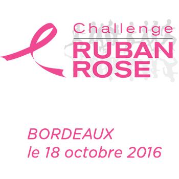 Le Challenge du Ruban Rose à #Bordeaux le 18 octobre 2015