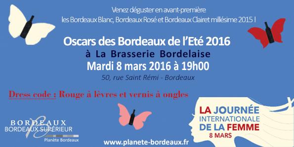 Tapis rouge aux Bordeaux Blanc, Rosé et Clairet : les oscars de l'été